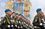 Впервые между Украиной и Россией проведен обмен парадными расчетами для участия в парадах войск