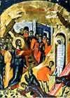 31 марта Православная Церковь отмечает Лазареву субботу