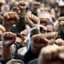 В Запорожье тысячи металлургов вышли на акцию протеста