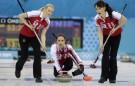 СОЧИ-2014: Женская сборная России по керлингу обыграла команду Швейцарии