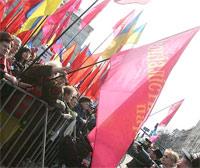 Митинг сторонников коалиции закончился