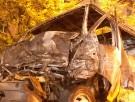 Под Запорожьем сожгли мужчину в иномарке
