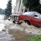 Второй ураган в Запорожье - 'Кобра' и МЧС спасают людей! ВИДЕО