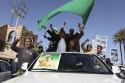 Сын Каддафи встретился с иностранными журналистами в Триполи