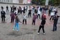В центре города запорожцы выйдут на зарядку