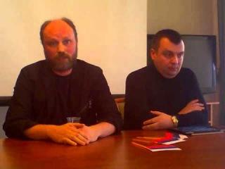 Владимир Рогов освобождён и дал пресс-конференцию в Белгороде - ВИДЕО
