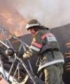 В Запорожье горела 9 - ти этажка