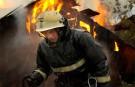 Крупный пожар в Запорожье
