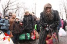 Трагедия Углегорска: исход из «города мертвых» - ФОТО, АУДИО