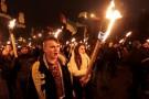 Фашистское шествие бандеровцев в Киеве - ФОТО, ВИДЕО