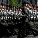 Украинские курсанты и офицеры приняли участие в параде на Красной площади