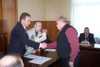 Запорожские ликвидаторы чернобыльской катастрофы получили мобилки, часы и разносы