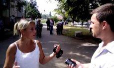 «Зачистка пророссийцев» боевиками «Айдара» на Днепропетровщине - ВИДЕО