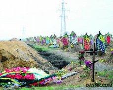 В Днепропетровске закопали более 150 карателей
