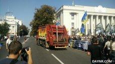 МОЛНИЯ: «Правый сектор» заблокировал правительственный квартал в Киеве
