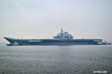 Сирия: флагман флота КНР авианосец «Ляонин» прибыл в Тартус