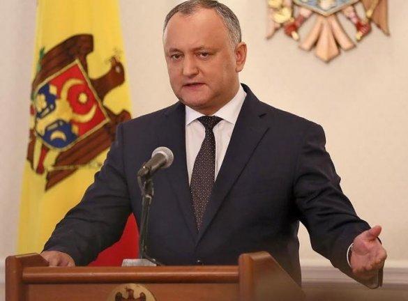 Додон: без стратегического партнёрства с Россией Молдавия потеряет свою государственность