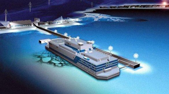 «Росатом» планирует запустить первую в мире ПАТЭС в 2018 г.