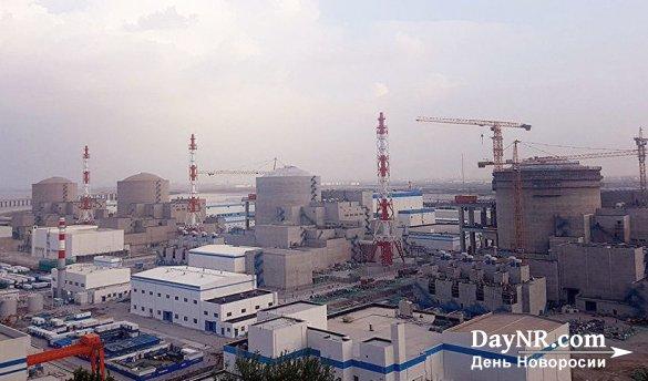 В КНР заработал энергоблок Тяньваньской АЭС
