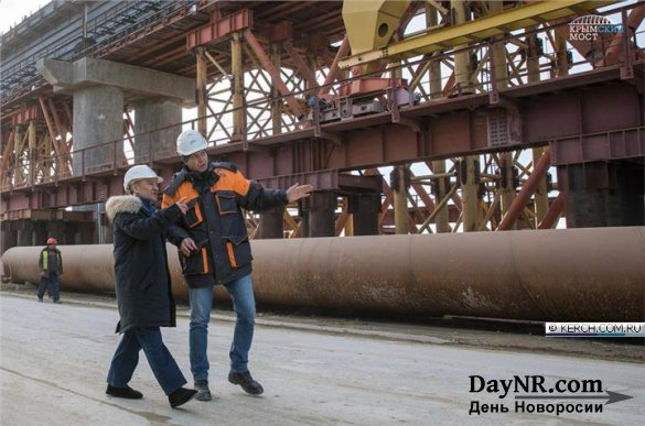 Строительство железной дороги по Крымскому мосту выйдет на пиковую мощность в 2018 году