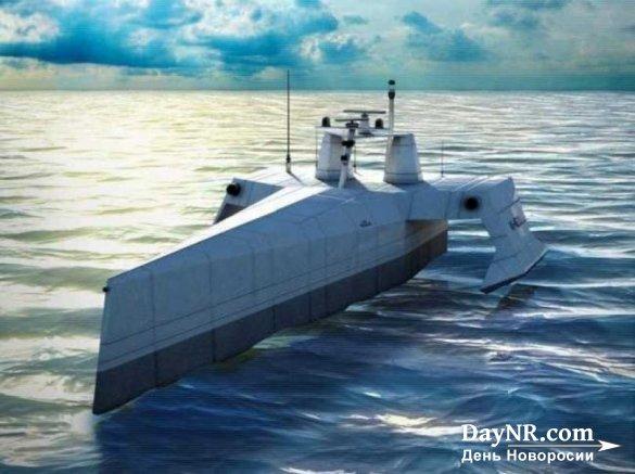 Американский флот получил робота-охотника за подлодками