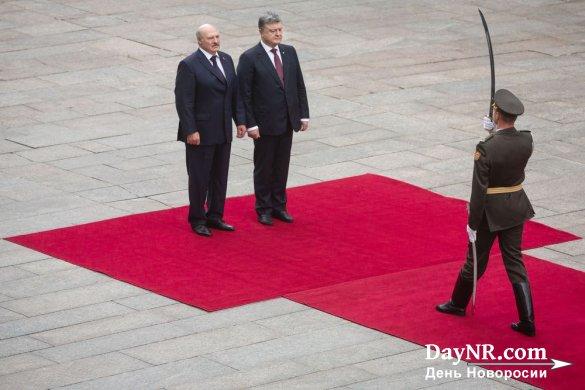 Киев передумал размещать белорусских миротворцев в Донбассе