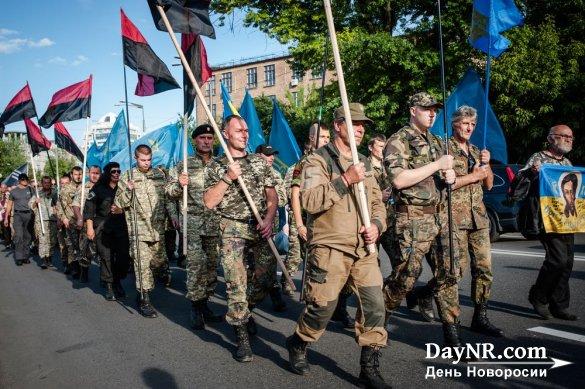 В Киеве радикалы решили выйти 9 мая с портретами дедов из дивизии СС «Галичина»