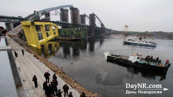 Глава Крыма напомнил Порошенко о недостроенном мосте через Днепр