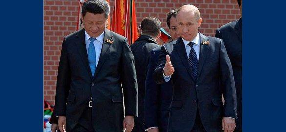 Путина в Пекине встретили «Катюшей»