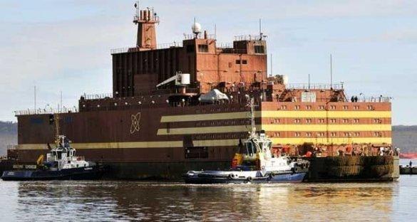 На плавучем энергоблоке «Академик Ломоносов» началась загрузка ядерного топлива в реакторы