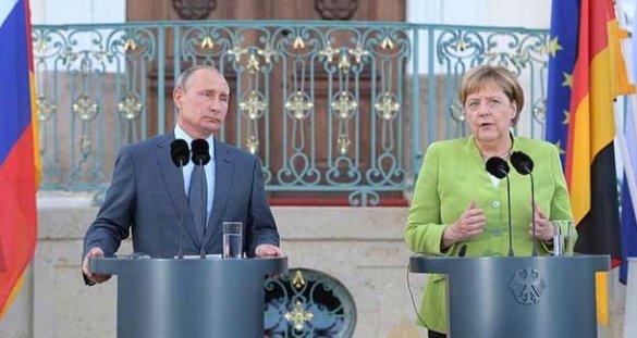 Путин и Меркель решили вопрос будущего Украины