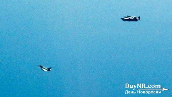 Британия подняла истребители над Черным морем из-за российских самолетов