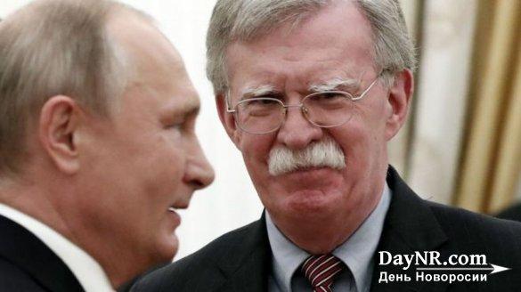 Владимир Путин на встрече с советником Трамп