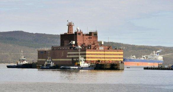 На ПЭБ «Академик Ломоносов» состоялся энергетический пуск первой реакторной установки