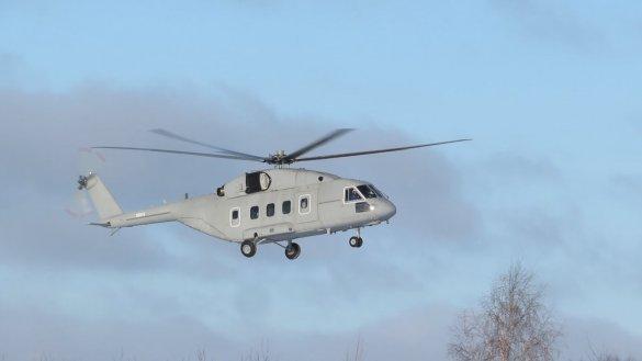 ВКС РФ получат новейший вертолет Ми-38Т