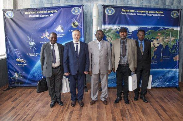 Украина намерена покорять космос вместе с Нигерией