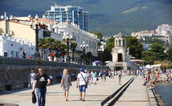 Экономика Крыма росла в начале года быстрее других