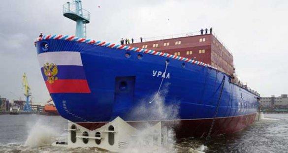 Новый ледокол даст России гигантские преимущества в Арктике